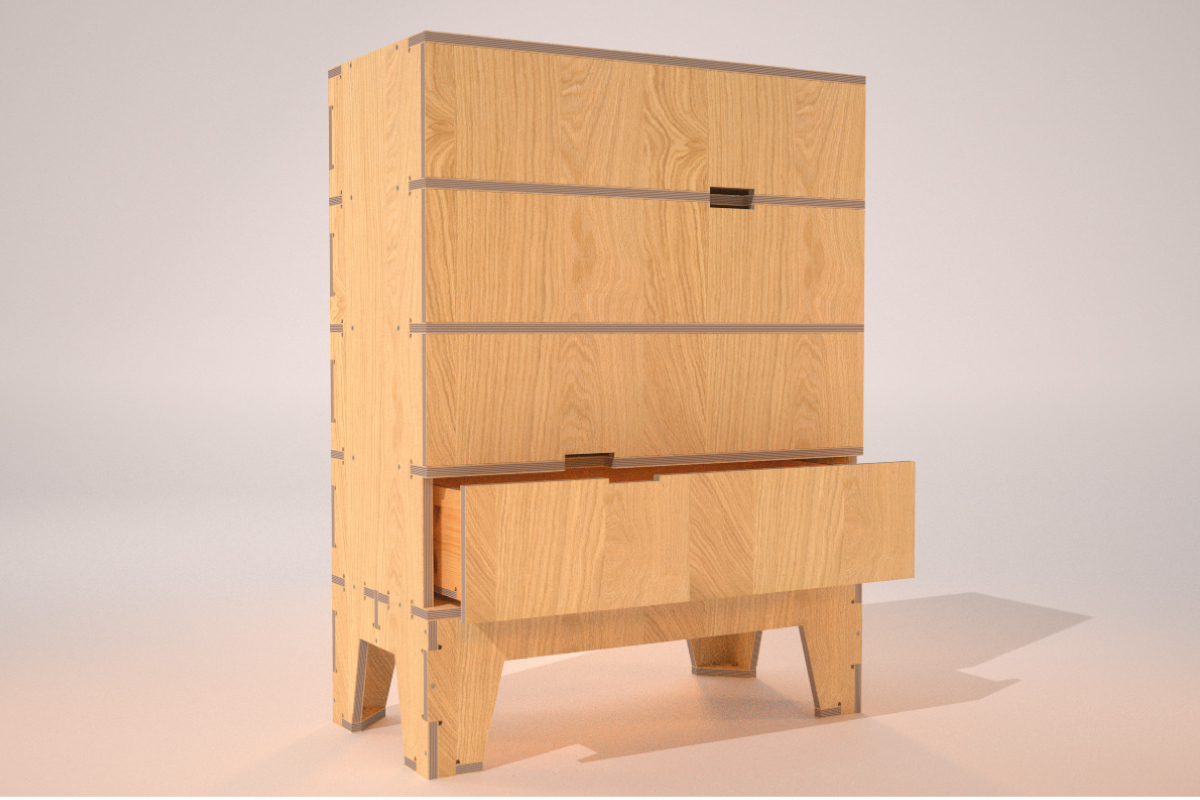 the atfab chest of drawers